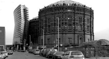 Viedeň 11, stredisko Gasometer